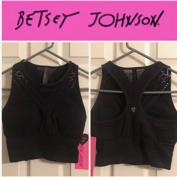 Betsey Johnson Other - Betsey Johnson Performance Removable Cup Bra